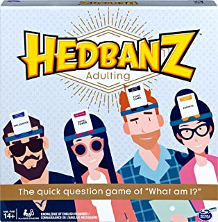 Hedbanz Adulting, Hilarious Party Game of Guessing and Charades for Millennials