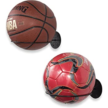Soccers Holder Wall Mount Basketball Storage Holder Rack Display For Ball Soccer