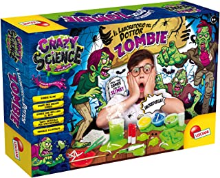 Lisciani Giochi Crazy Science Le Laboratoire du Docteur Zombie, Multicolore, 68678 - Version Italienne