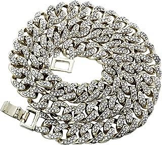 chain link diamond necklace