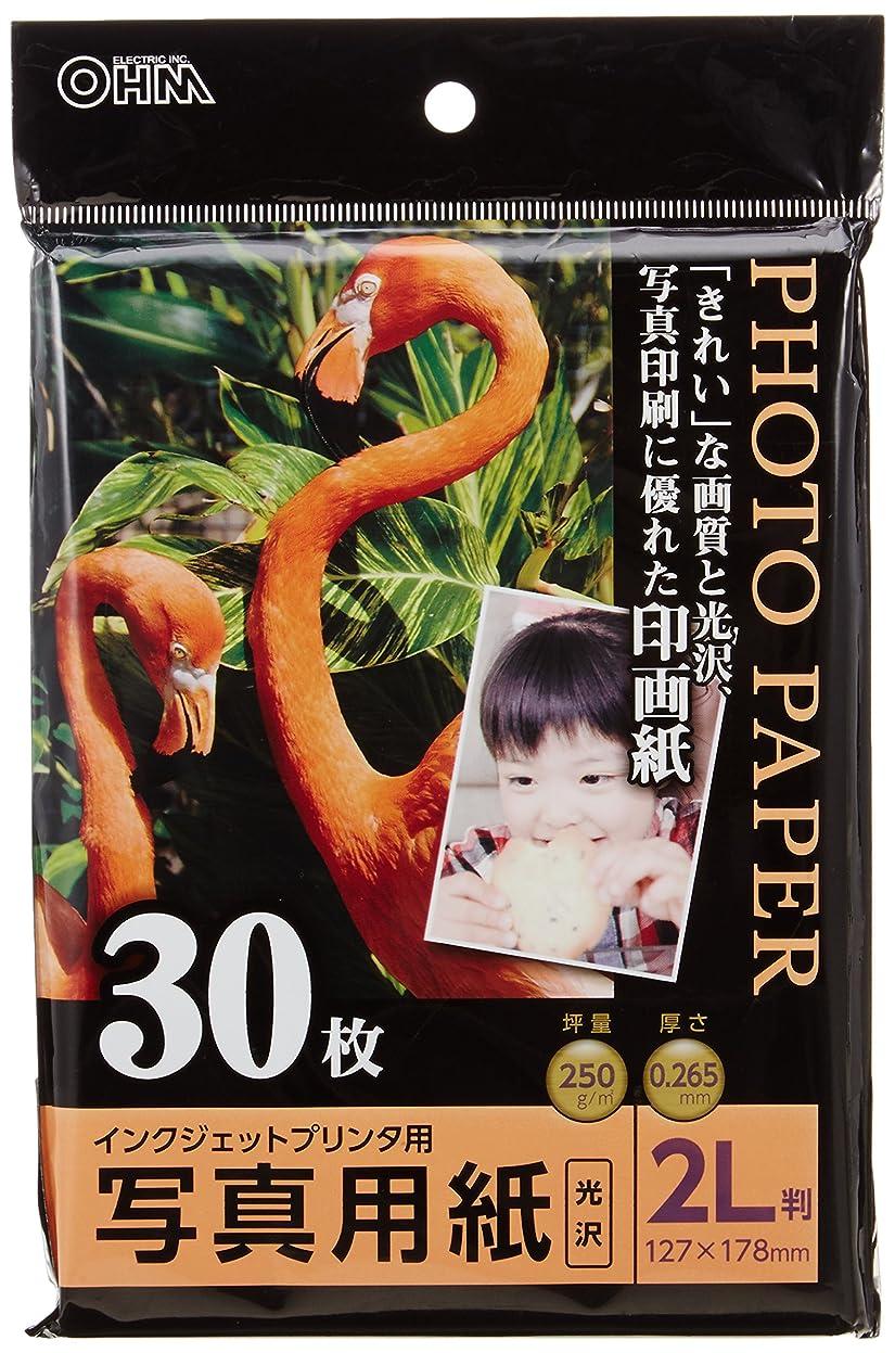 読書ピニオン険しい写真用紙 光沢 2L版 30枚入り PA-PRC-2L/30