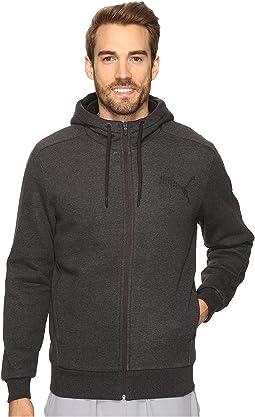 PUMA - P48 Core Sherpa Full Zip Hoodie