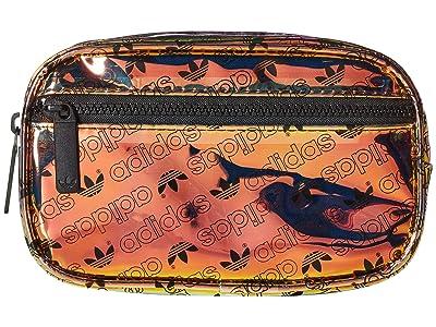 adidas Originals Originals Iridescent Waist Pack (Radiant Metallic Forum Monogram Small/Black) Bags