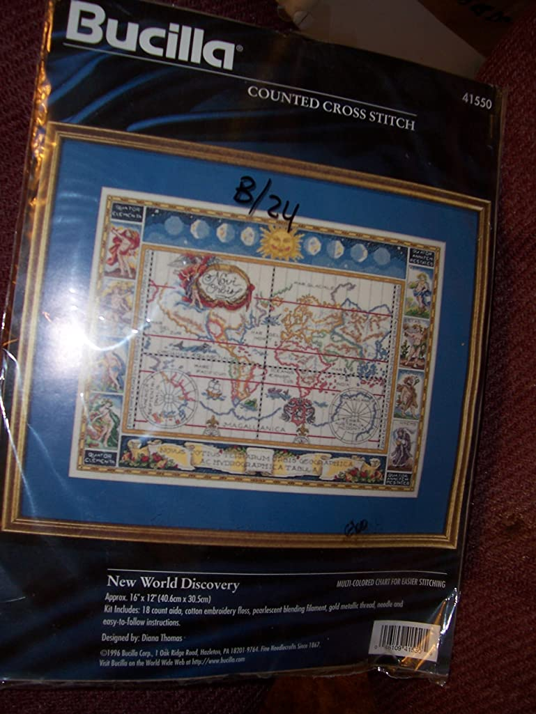 New World Dicovery Counted Cross Stitch Kit