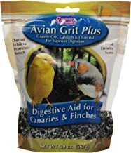 Brown's Avian Grit Plus Digestive Aid for Finches and Canaries with Licorice Scent, 20-Ounce