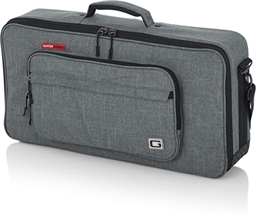 """Gator Cases Transit Series Equipment and Accessory Bag; 24""""x12"""" - Fits Headrush and Line 6 Helix Pedalboards (GT-2412..."""