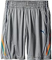 Puma Kids - Side Stripe Shorts (Little Kids)