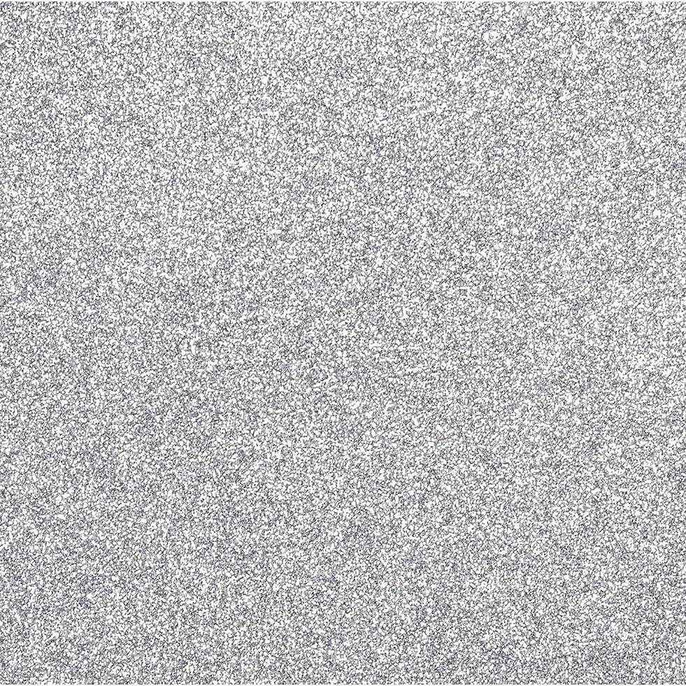 Darice Bulk Buy DIY Sticky Back Glitter Sheet Silver 8.5 x 11 inches (10-Pack) 2511-58 v609447129