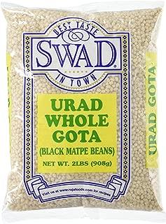 Great Bazaar Swad Urad Whole Dal, White, 2 Pound