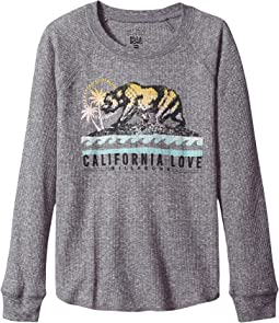 Billabong Kids - Cali Bear Original Raglan (Little Kids/Big Kids)