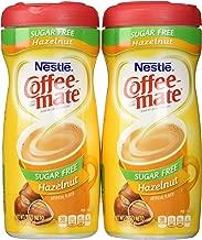 Coffee Mate Hazel Nut Sugar Free Powder ( pack of 2)