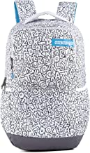 American Tourister Doodle Nxt 02 Grey Alphabets Casual Backpack