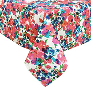 Kate Spade New York Rosa Terrace Cotton Tablecloth, Tablecloth-60x120, Multi