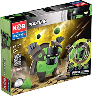 Geomag Kor Proteon Aki Transformer Robot Magnetic Construction Building Toy