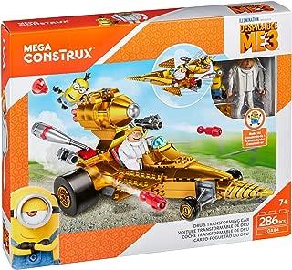 Mega Construx Despicable Me 3 Dru's Transforming Car Building Set