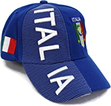 """High End Hats World Soccer/Football Team Hat Collection"""" Embroidered Adjustable Baseball Cap"""