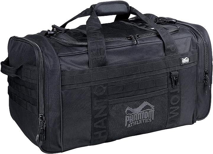 Borsa sportiva tactic per palestra | gym-bag fitness training | 70 litri  phantom athletics B082LN2ZR4
