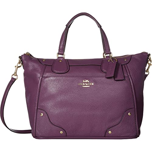 1e157886cc COACH Womens Grain Leather Mickie Satchel