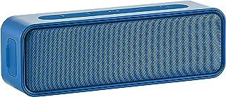 Amazon Basics – Bluetooth Stereo Lautsprecher mit wasserabweisendem Design, 9 W, Blau