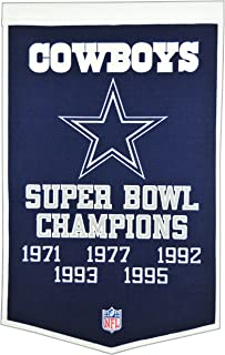 dallas cowboys championship banners