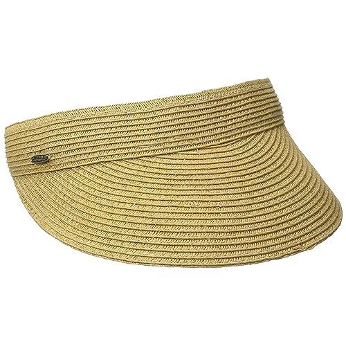 SCALA Women s Paper Braid Visor 45930f229d79
