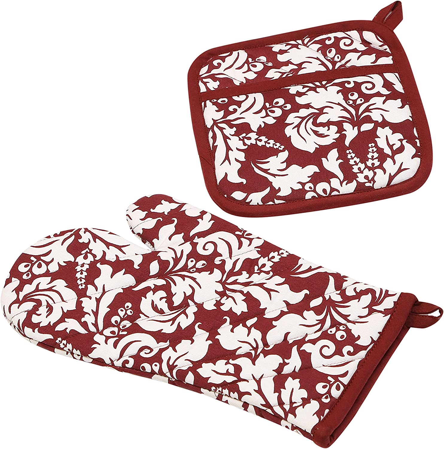 Max 57% OFF Yourtablecloth Set of Oven unisex Mitt Gloves-10 Holder Pot and or