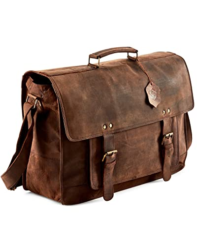 c873d60114b38 Leather Laptop Bags  Amazon.com