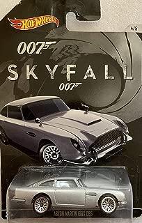 Hot Wheels, 2015 Exclusive James Bond 007, Skyfall 1963 Aston Martin DB5 Silver 4/5