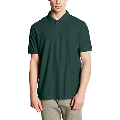 f4af965a Fruit Of The Loom Premium Mens Short Sleeve Polo Shirt