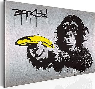 91,5 x 61 cm NEU Affe// Schimpanse Kunstdruck Steez Poster Monkey Joint Time