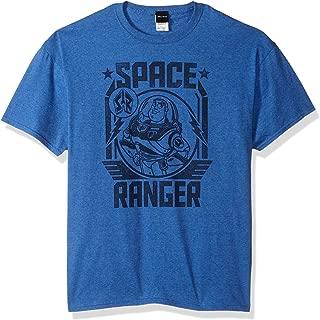 Disney Men's Toy Story Buzz Lightyear Space Ranger Graphic T-Shirt