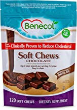 Benecol® Soft Chews - Dietary Supplement Made with Cholesterol-Lowering Plant Stanols, which are Clinically Proven to Redu...