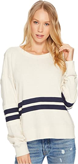 Splendid - Seabrook Rugby Stripe Sweatshirt