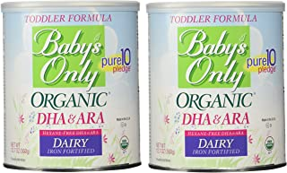 Baby's Only Organic Dairy with DHA & ARA Formula, 12.7 Ounce (Pack of 2)