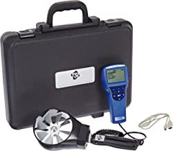 TSI 5725 VelociCalc Rotating Vane Anemometer, 50 to 6000 ft/min Velocity Range, -1.0% Accuracy, 32 to 140 Degrees F Temperature Range