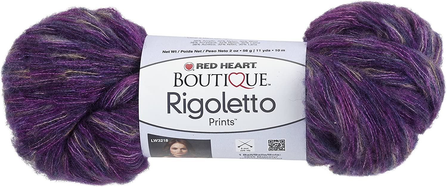 Red Heart Boutique Rigoletto YarnMajestyPrints