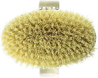 Hydrea London Professional Dry Skin Body Brush with Cactus Bristle (Hard Strength), 135 Grams