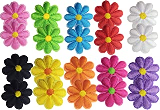 Best large iron on flowers Reviews