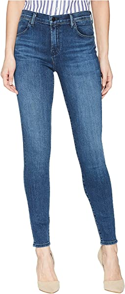 Maria High-Rise Skinny in Belladonna