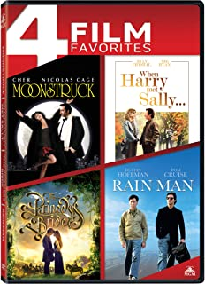 Moonstruck / When Harry Met Sally / The Princess Bride / Rain Man Quad Feature