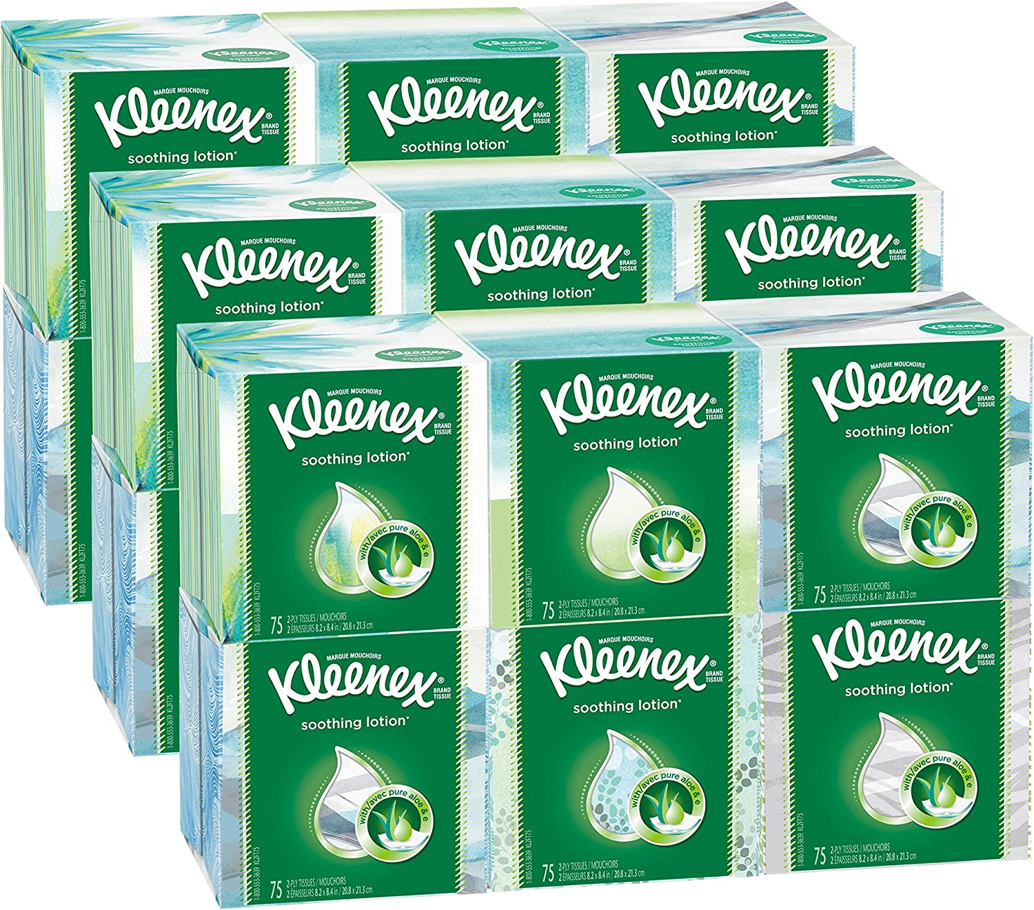 Our shop most popular Ranking TOP1 Kimberly-Clark 25829 Lotion Facial Tissue 3-Ply Box 75 Sheets