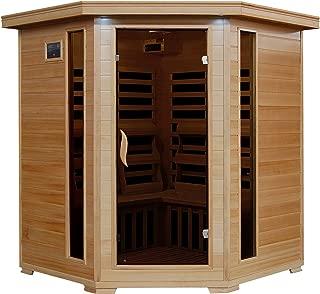 Radiant Saunas BSA2420 4 Person Hemlock Carbon Infrared Sauna