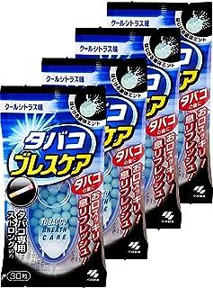 【まとめ買い】タバコブレスケア クールシトラス味(ストロングタイプ) 30粒×4個(120粒)