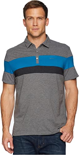 Calvin Klein Liquid Touch Tricolor Blocked Polo