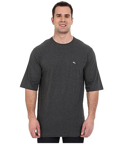 Tommy Bahama Big & Tall Big Tall New Bali Skyline T-Shirt (Charcoal Heather) Men