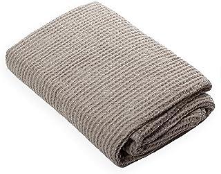 Toalla ligera para invitados de puro lino 100/% natural Cuore di lino . 40 x 60 cm