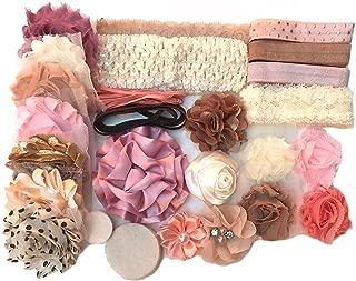 Bowtique Emilee Headband Kit DIY Headband Kit Makes Over 15 Headbands - Vintage Princess Mini