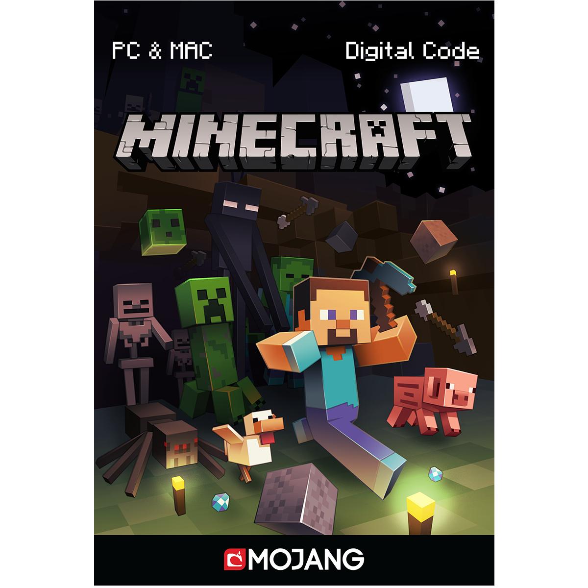 Minecraft for PC/Mac [Code Jeu PC - Sans DRM]