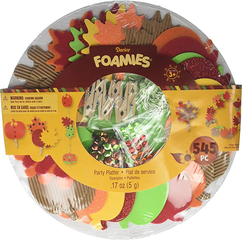 Darice Platter Party Mm Harvest Leaves Harvestleaves 30025646