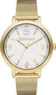 Timberland Womens Analogue Quartz Watch with Stainless Steel Strap TBL15643MYG.01MM